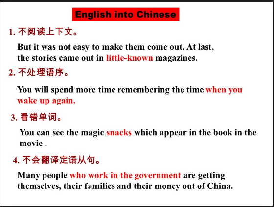 translating from english into chinese Chinese translation software using this online chinese translator you can translate chinese words, sentences into english.