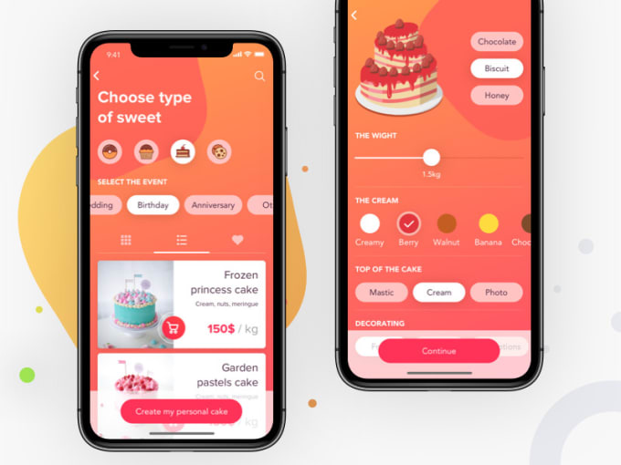 Miraculous Design Mobile App Ui For Iphone Apps Android Apps Interior Design Ideas Jittwwsoteloinfo