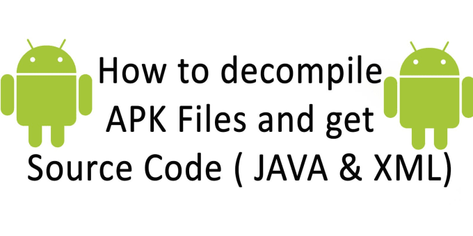 decompile apk and dex android files to java