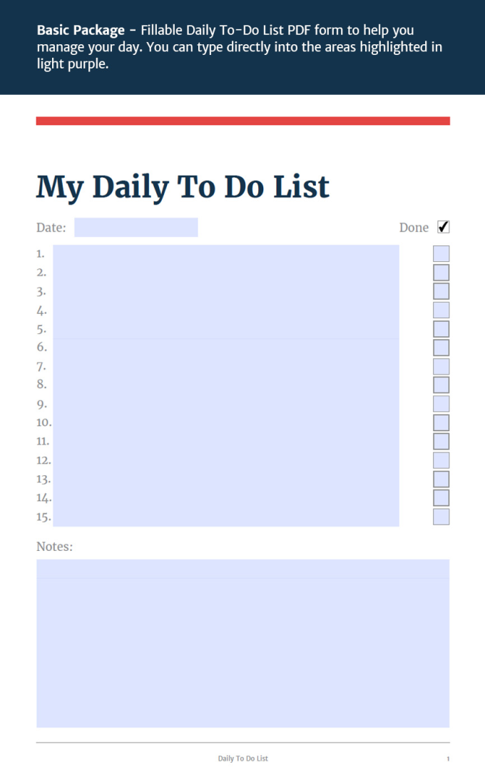 send you my stylish daily to do list fillable pdf form 24hr by mancat80