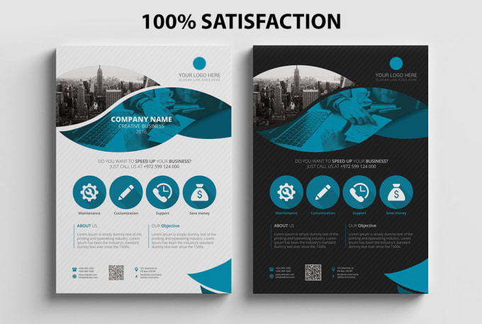 design a professional business and corporate flyer by samiul islam