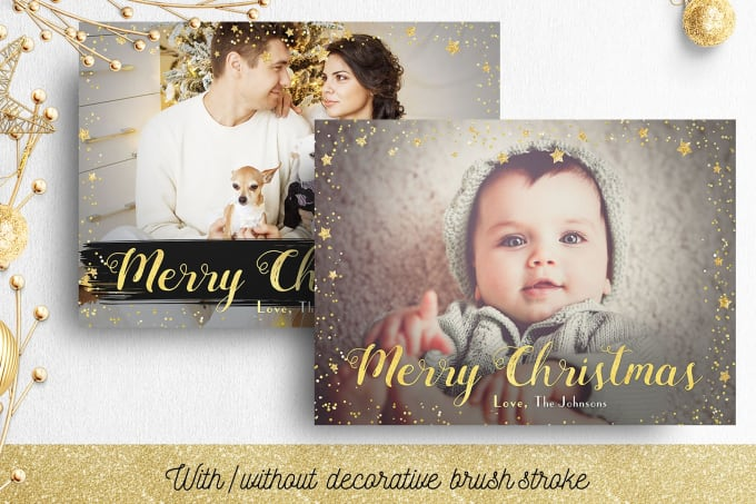 Christmas And Greetings Cards Or Flyers Design