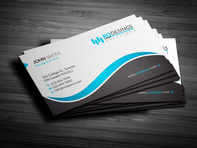 Design Business Card With Two Concepts By Bestdesigneryo