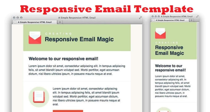 Create Editable Html Email Template By Masab