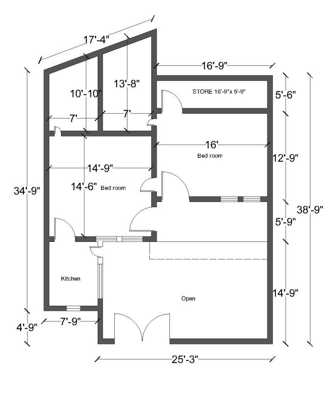 Create 2d Autocad Plans By Uzair8network