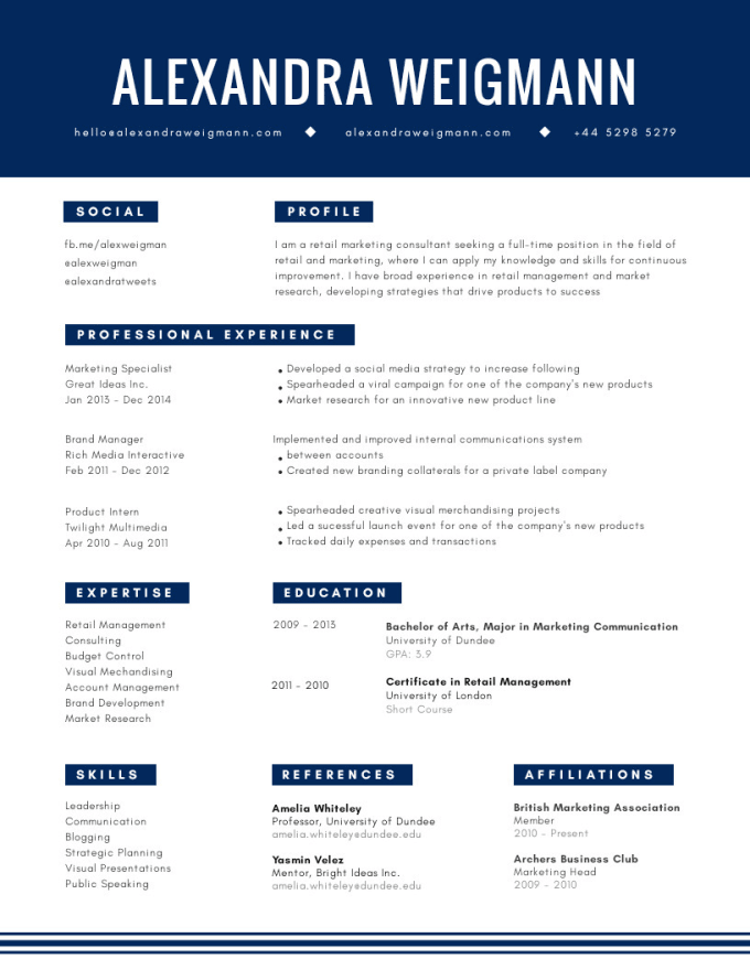 Create A Top Notch Resume For You By Annabelresume