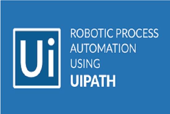 saranaone : I will scrape data using ui path robotic process automation for  $5 on www fiverr com