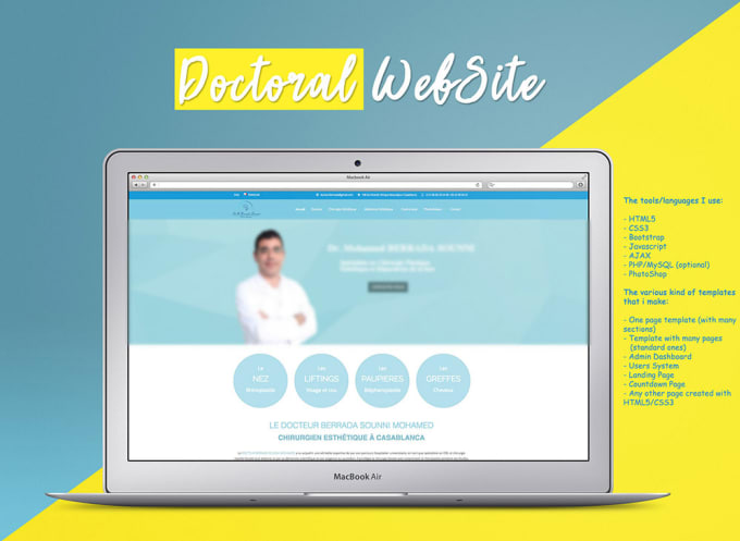 create professional psd to html template with bootstrap