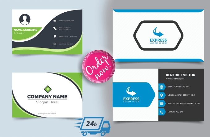 Design Your Business Cards Within 24 Hour By Ayonbd37