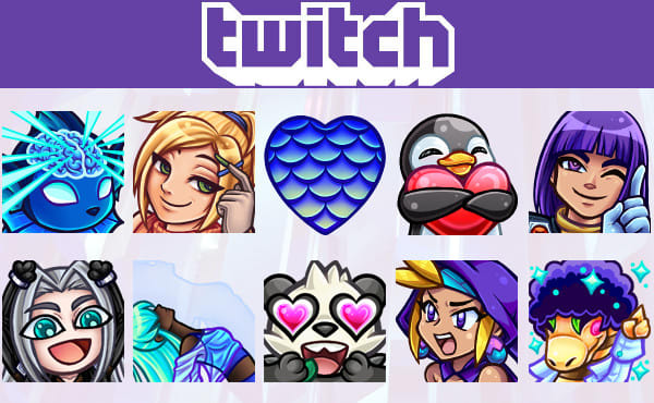 create custom twitch emote or sub badge