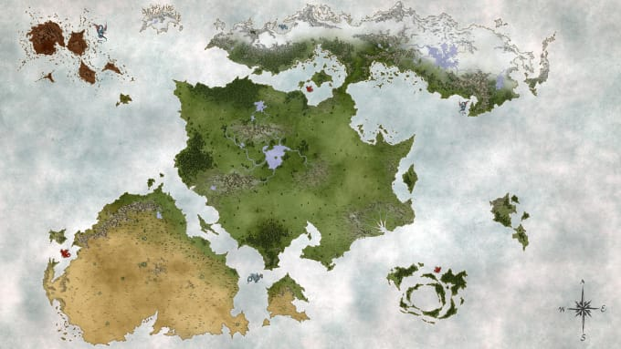 create your fantasy map