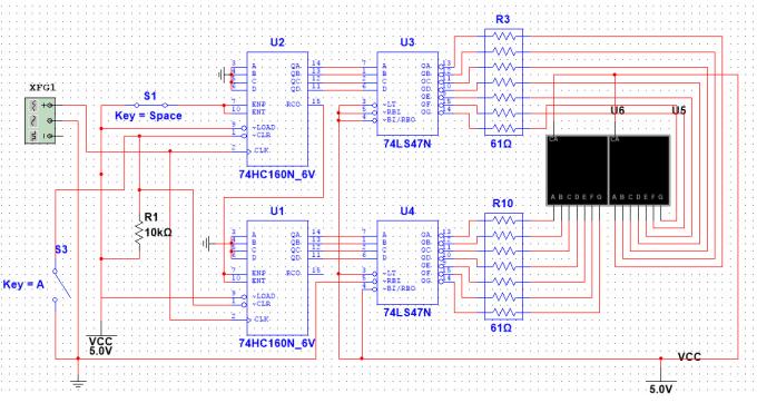 simulate circuit in proteus, multisim