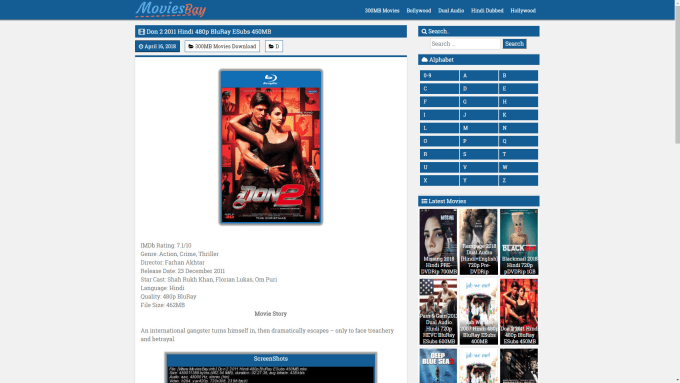 nikhilsultaan : I will make moviesbay theme with google drive download and  link protector for $65 on www fiverr com