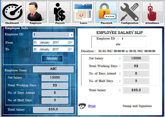 make fingerprint or rfid based application for you