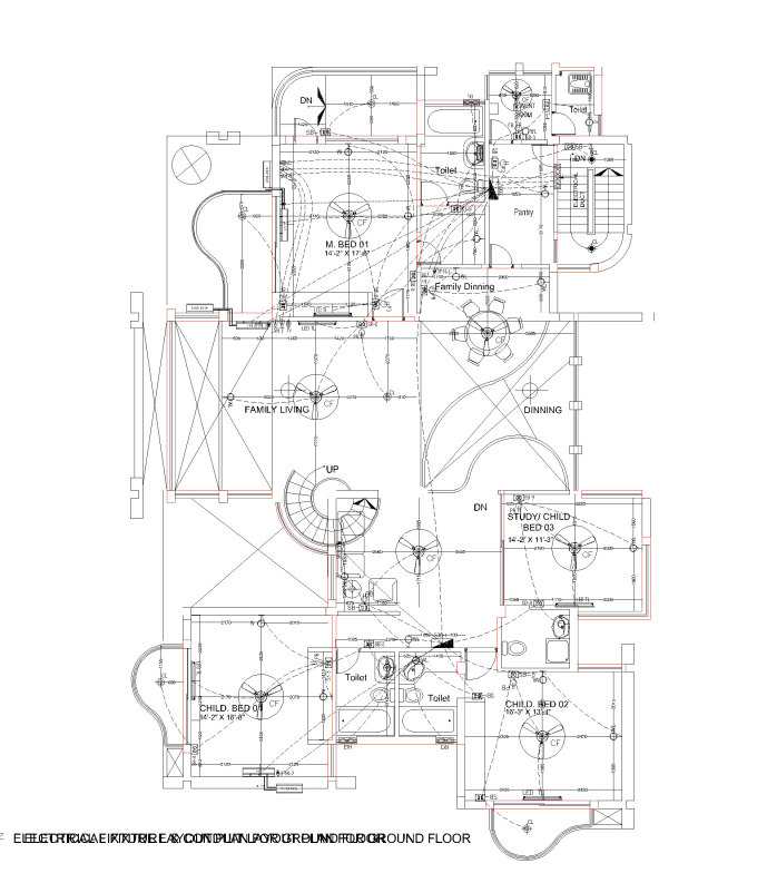 design electrical plans load calcultion sld drawing by 2d