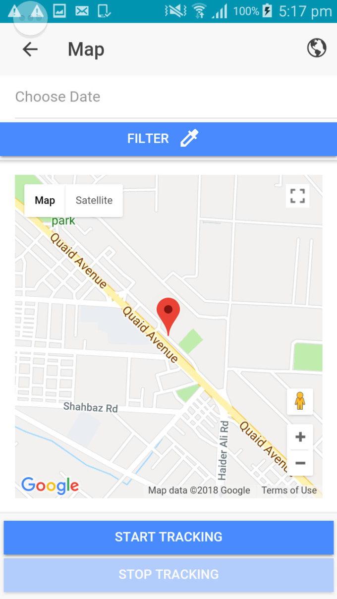 aqi123 : I will create hybrid gps mobile app using ionic and google maps  api for $100 on www fiverr com