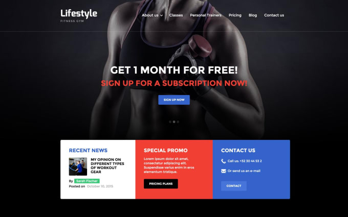 Black Teens Free Website Templates - Other-8307