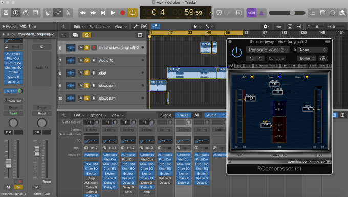 create beat tags, dj drops, or podcast sweeps