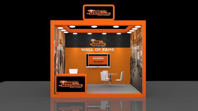 Exhibition Stand Design Price : Make d designs of exhibition stand in ds max at lowest price by