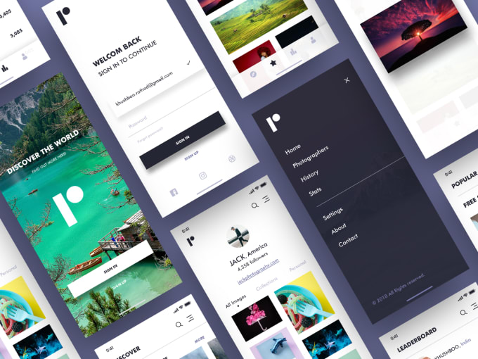 convert UI designs into react native app with redux