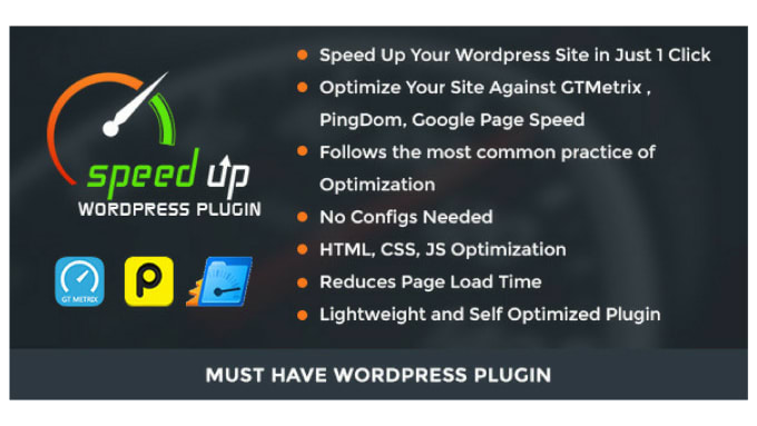 Optimize wordpress speed and page speed up by Aqsamughal