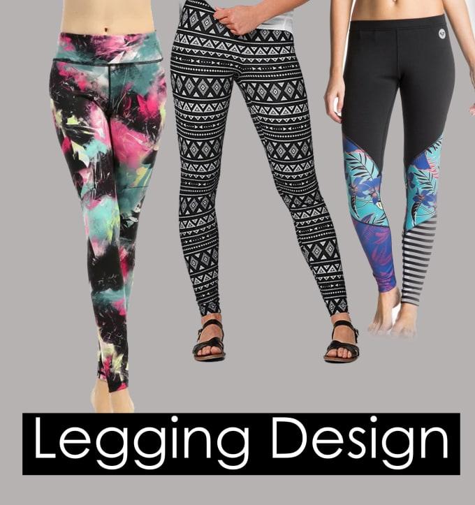 Design Unique Leggings Or Yoga Pants By Amna101