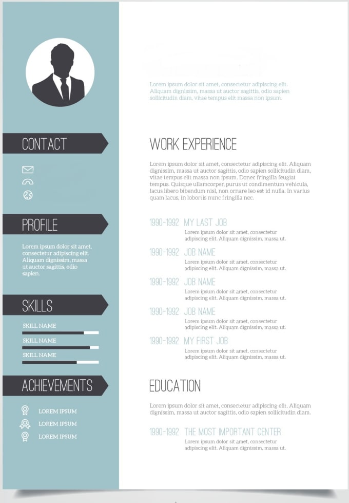 Johnsonnewman18 I Will Design Resume Cv Curriculum Vitae And Cover Letter For 20 On Www Fiverr Com