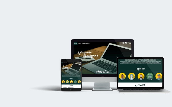 Create Website Template For You By Tiberiuroman