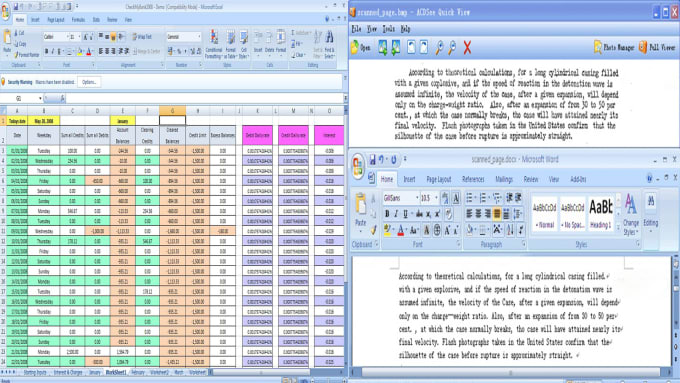 do data entry work notepad ms word excel HTML