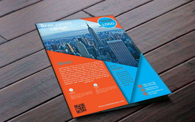 make premium and creative business flyers in just 24 hours by wsbappy