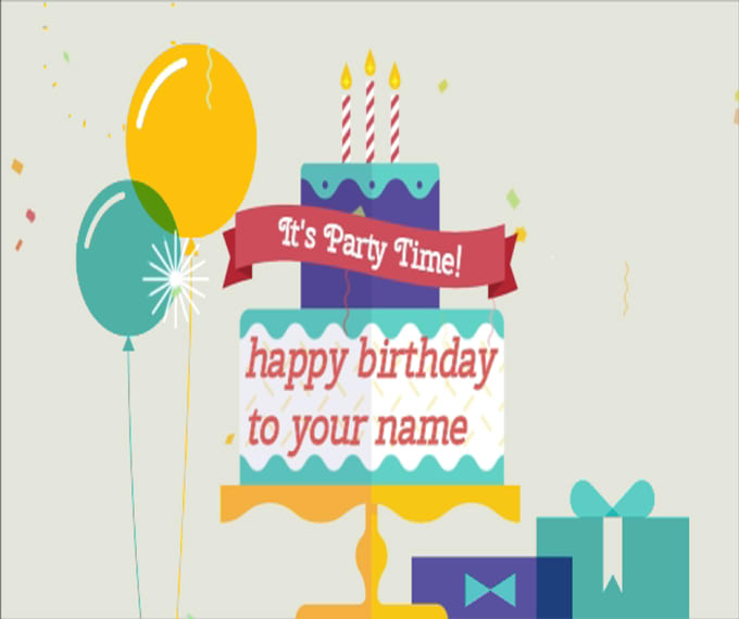 Minions wishes you happy birthday greeting video by atmeen015 m4hsunfo