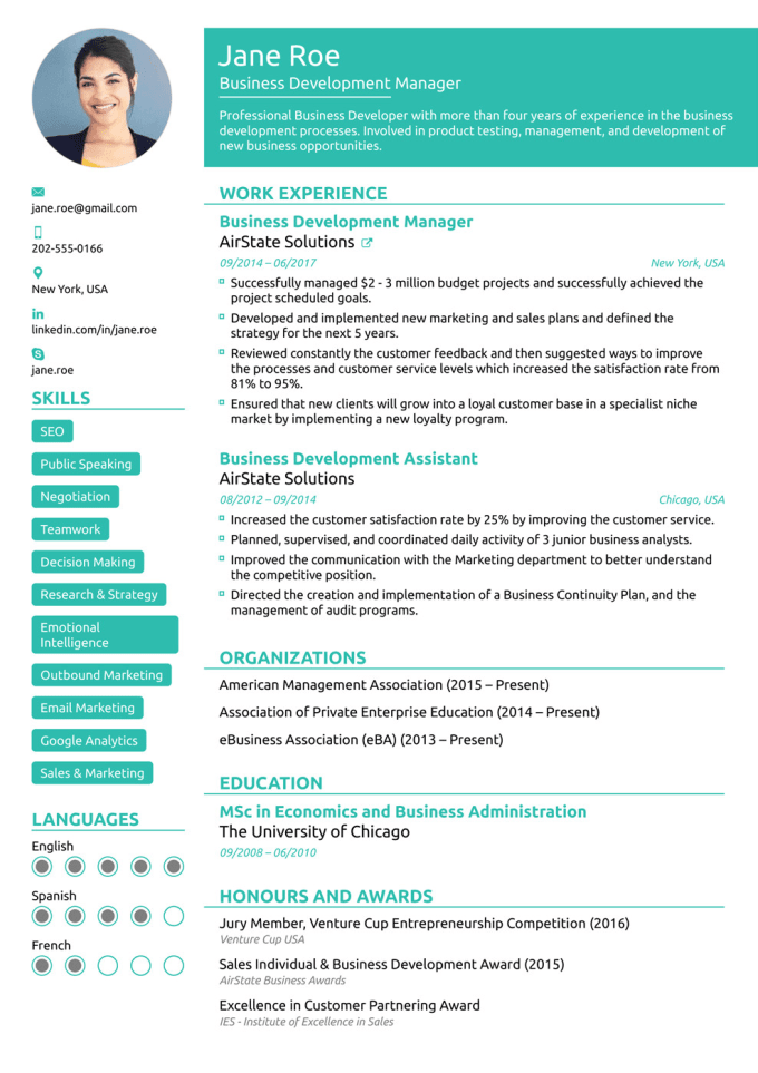 design a jawdropping winning resume  cv  cover letter by