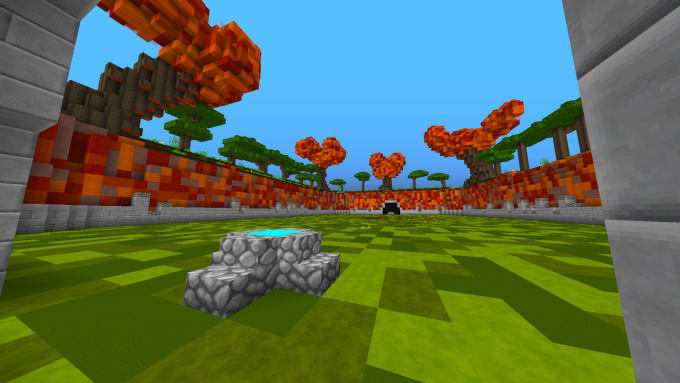 Make This Duel Map For Any Minecraft Server New Desing Ntwo By