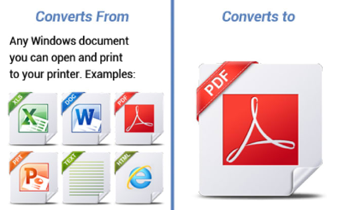 Create a fillable pdf form and convert any file into pdf by