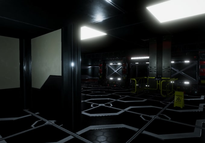 create custom sci fi 3d models