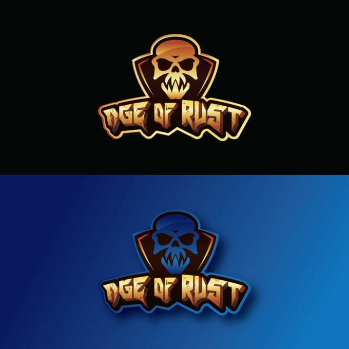 provide a high quality gaming logo design in illustrator and photo shop