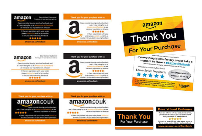 Design You A Custom Amazon Thank You Card And Gift Card In 3h By