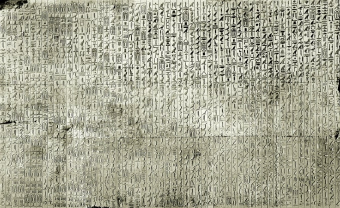 translate ancient egyptian hieroglyphs, hieratic, demotic