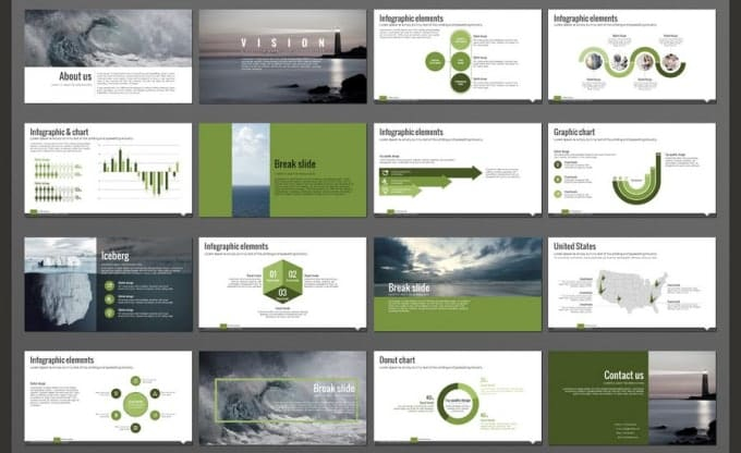 Design Your Modern Powerpoint Template By Shazmamalik