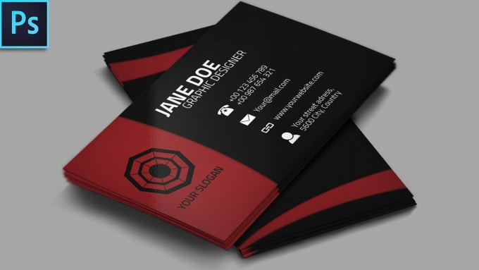 Make a classic business card for you by mubeen46 make a classic business card for you colourmoves
