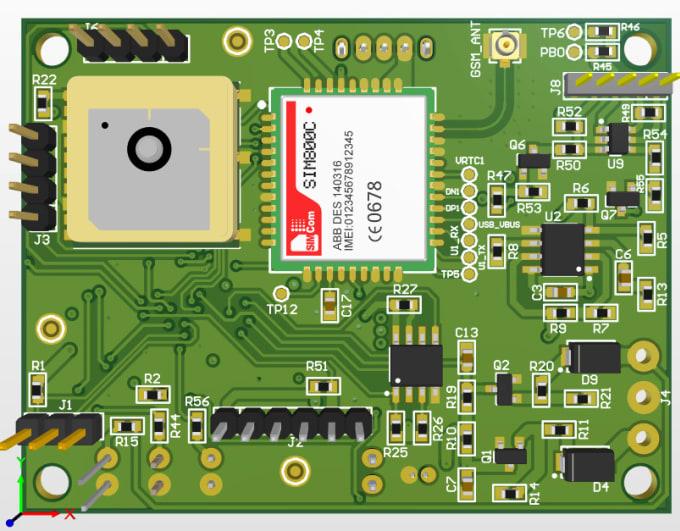 design multilayer pcb in altium designer with 3d model