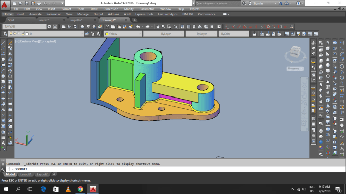 draw any 2d and 3d mechanical drawing by autocad