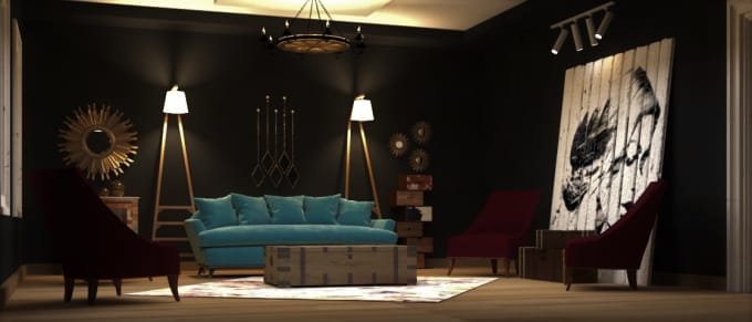 Design Interior Designs Using 3d Max Autocad And Photoshop