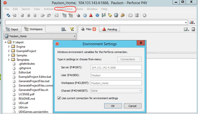 install and configure perforce server