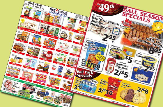 create grocery store catalog or flyer by digitalkaam