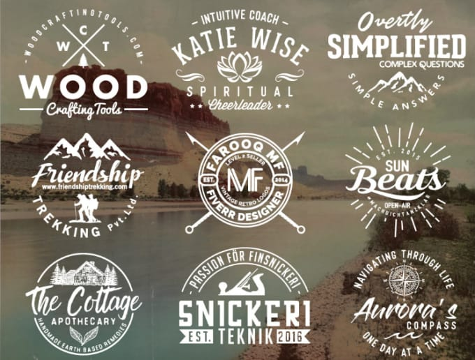 Create A Great Hipster Logo By Musa Design
