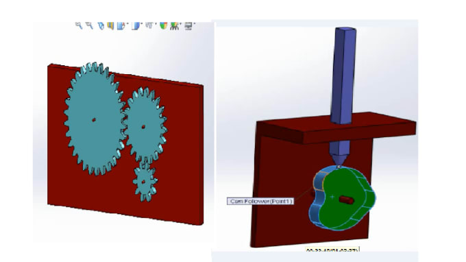 do control stuff with matlab, simulink and also do 2d,3d designs with  solidworks