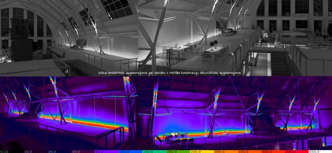do architectural light scenes analysis by ilseled