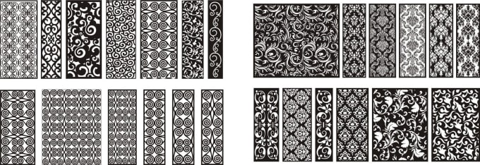 lakhanikalpesh3 : I will create dxf file of screen and jali design for cnc  laser ,plasma and waterjet for $5 on www fiverr com
