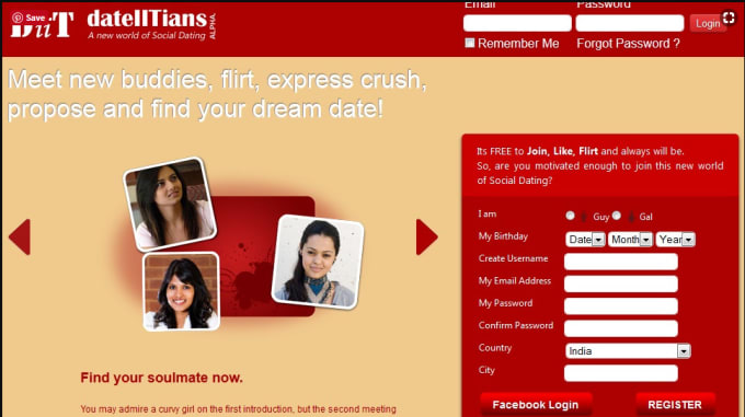 Mobiele dating app India
